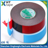 Sehr hohe Masseverbindung anhaftendes doppeltes mit Seiten versehenes Vhb PET Schaumgummi-acrylsauerband