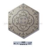旧式な様式の功妙なホーム装飾の陶磁器の六角形の床タイル248X288mm