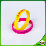 Wholesale Custom Wristband&#160 Silicone; with Embossed Printed Logo