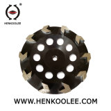 콘크리트를 위한 다이아몬드 컵 바퀴 구체적인 석공술 가는 화살