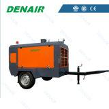 100 Compressoren van de Lucht van psi de Diesel Beweegbare met Goedkope Prijs