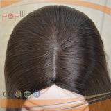 Kopfhaut-oberste doppelte Knoten-Hand gebundene Perücke (PPG-l-01023)