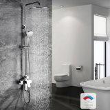 Accesorios de Baño Conjunto de cabezal de ducha de lluvia de latón cromado sistema bañera y ducha grifo