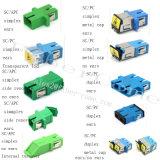 Adattatore ottico duplex caldo della fibra dello Sc Om3 millimetro di vendite