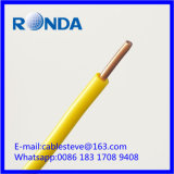 Fio elétrico contínuo 2.5 SQMM do PVC da BV