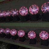 Iluminación de la bola del plasma de 6 pulgadas, esfera del plasma, relámpago del globo del plasma