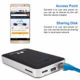 USB3.0 2.5inchのルーターとの多機能の無線電信500GB 1tb 2tb WiFi HDD機構