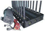 デスクトップ16チャネルのオールインワン移動式携帯電話のシグナルの妨害機のシグナルのブロッカー