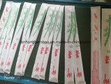 Pauzinhos de bambu descartáveis com o logotipo personalizado