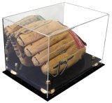 Percevable gant de baseball la protection de cas d'affichage acrylique clair de haute qualité