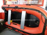 Opblaasbare Reddingsboot met Materiaal Hypalon voor Brandweerkazerne