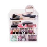 In het groot Kosmetische Opslag 5 van het Plexiglas Organisator van de Make-up van de Lade de Acryl