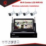 960p 4CH 7 pouces LCD Kit NVR WiFi