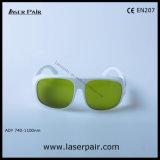 seguridad Eyewear de los vidrios/laser de la protección de ojo 808nm y 980nm y 1064nm de Laserpair