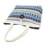 Большая емкость хлопок Canvas магазинов женская сумка для женщин и девочек