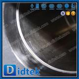 Didtek 벌거벗은 줄기 플랜지는 화학과 석유화학 정제를 위한 포이 공 벨브를 끝낸다