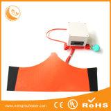 calefator elétrico adesivo da borracha de silicone do aquecimento de 3m