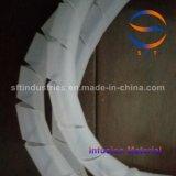 Canal de flujo espiral de la deformación del tubo para la infusión del vacío