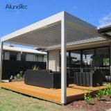 Jardim Roof Pergola Gazebo de acabamento de alumínio do sistema