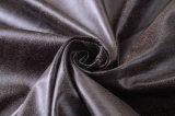 El cuero del ante tiene gusto de la tela de tapicería del coche