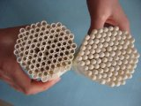 Tubo de cerámica grande del alúmina Al2O3 de la talla
