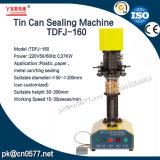 Máquina del lacre de la poder de estaño de la máquina de enlatado para la goma Tdfj-160 de la haba