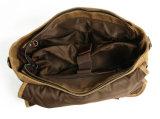 Вощеная холст ткань взять на себя ЭБУ подушек безопасности контрастный цвет сумка для ноутбука (RS-16970)