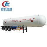 De aangepaste Semi Aanhangwagen van LPG van de Kleur met het Systeem van Leidingen voor Verkoop