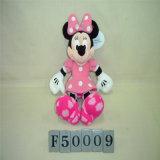 재미있은 미키 마우스와 Minnie 견면 벨벳 장난감