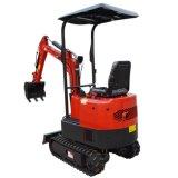 Сад и сельскохозяйственных угодий инструменты (CX10T) мини-экскаватор с маленькие дизельный двигатель