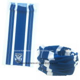 공장 생성에 의하여 주문을 받아서 만들어지는 폴리에스테 25*50cm 파랑 목 각반 관 스카프