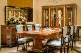 Alta lucentezza 0069 che vernicia l'accumulazione classica della Tabella pranzante di legno solido