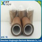do silicone resistente ao calor da isolação 260c fita adesiva do Teflon 3.5kv