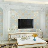 PVC Wallcovering, papel de empapelar del PVC, tela de la pared del PVC, papel pintado 2017 del PVC