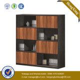 Casellario di legno di vetro dello scaffale di memoria dello scaffale per libri di Alumnium del portello (UL-ND248)
