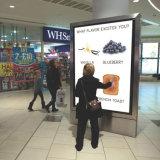 Affissione a cristalli liquidi esterna su ordinazione di Media Player del grande schermo che fa pubblicità alla visualizzazione