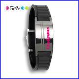 Zoll Ihr Firmenzeichen-Titanschmucksachen Biomagnetic Armband
