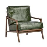 Mobilier classique en cuir italien Fauteuil inclinable Salon Président de l'accoudoir