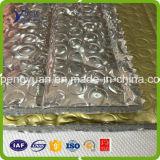 Burbuja de aluminio del abrigo de la hoja de la burbuja de la película de la prueba de fuego para el aislante de la pared, aislante de la cavidad, aislante de la azotea