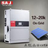 Invertitori solari di griglia a tre fasi di SAJ 25KW 3MPPT IP65 per l'annuncio pubblicitario solare