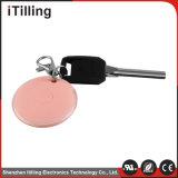 Mini traqueur rose personnalisé de GPS pour le sac à main