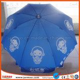 Vente extérieure faite sur commande durable promotionnelle de parapluie