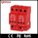 Стандарт IEC 3 участка с Arrester пульсации AC Imax 80ka рельса DIN