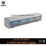 2-Layers bernsteinfarbige LED MiniLightbar für Emergency Fahrzeuge (TBG-509L-4B4C4)