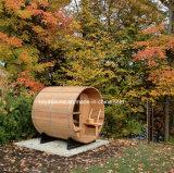 Sauna superior do tambor da pessoa da sauna 2-6 da sauna do competidor de Prcie
