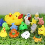 Sveglio popolare poco giocattolo di plastica del vinile dell'anatra gialla del bagno