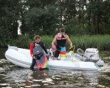 barco de pesca inflável da casca da fibra de vidro do barco do reforço de 3.3-8.3m Hypalon