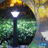 Iluminación solar al aire libre del jardín de la luz del césped de la fundición de aluminio LED