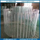 El ácido de fritas cerámicas / Sandblasted curvo templado caliente / dobladas de Vidrio de construcción