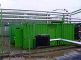 Kraftwerk des Biogas-5*120kw + 2*50kw